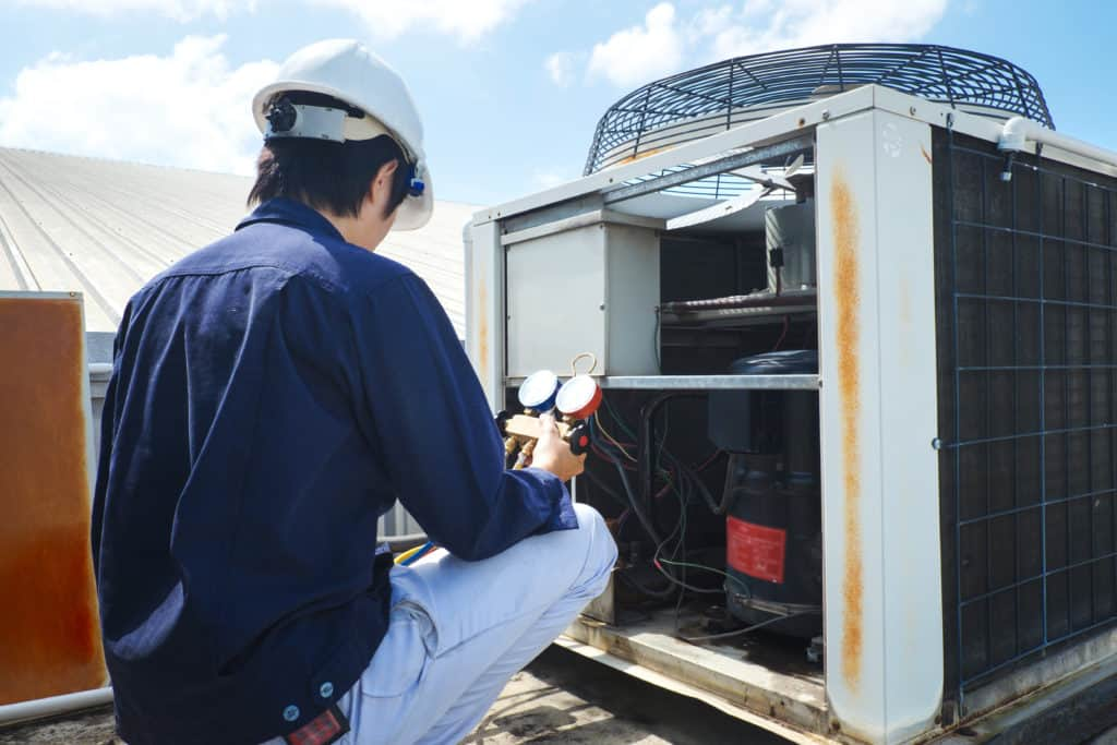 Commercial Heating Air Conditioning Repair by H & H Commercial Services